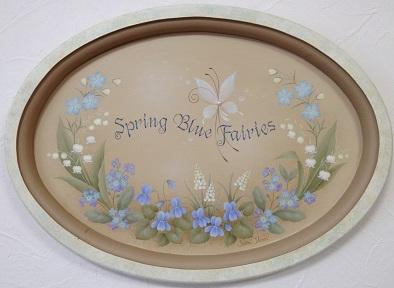 Spring Blue Fairies