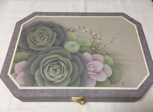 葉牡丹の文箱